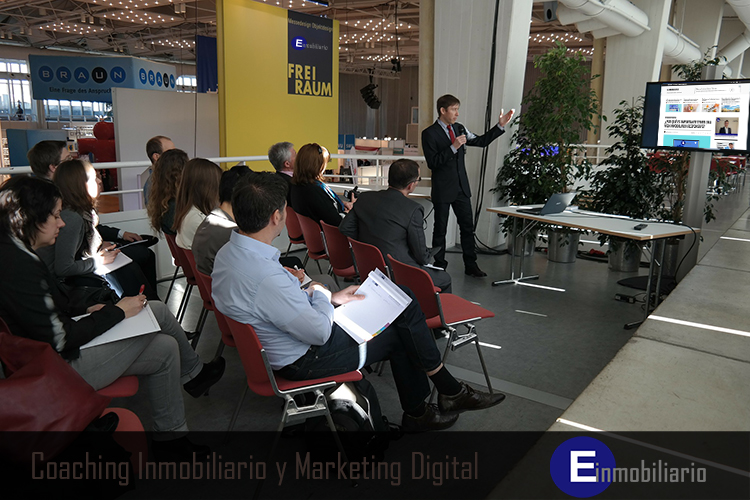 Coaching inmobiliario y Marketing Digital.