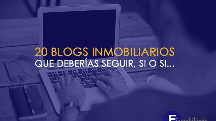 Listado de Blogs inmobiliarios que son tendencia.