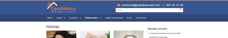 El blog de Casablanca inmobiliaria.