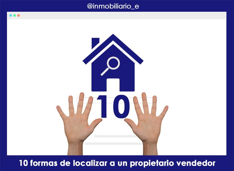 10 formas de localizar a un propietario vendedor.