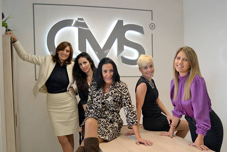 Equipo de Cristina Moriones Sanz (CMS inmobiliaria).