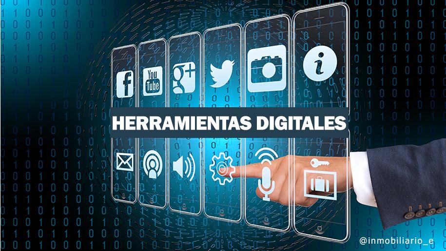 Imagen de herramientas digitales en el internet. Un hombre con la intención de comprar casas online