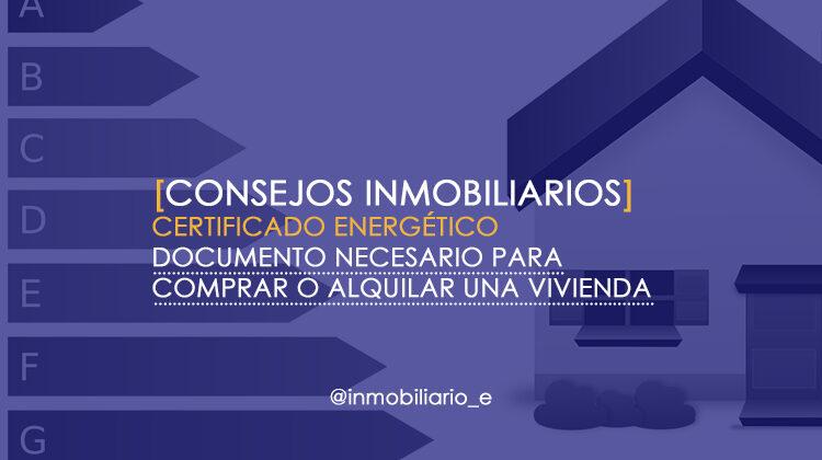 Certificado energético en viviendas