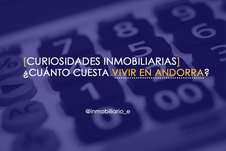 Chico calculando el precio estimado mensual para vivir en Andorra